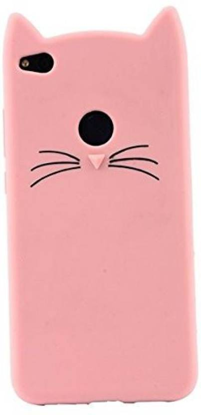 Acesquare Back Cover for Oppo F7 Cute Cartoon Beard Cat Silicon