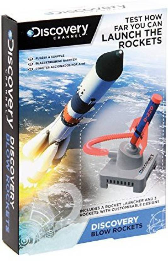 Paladone Pp2936Dis Discovery Channel Blow Rockets Toy Price in India