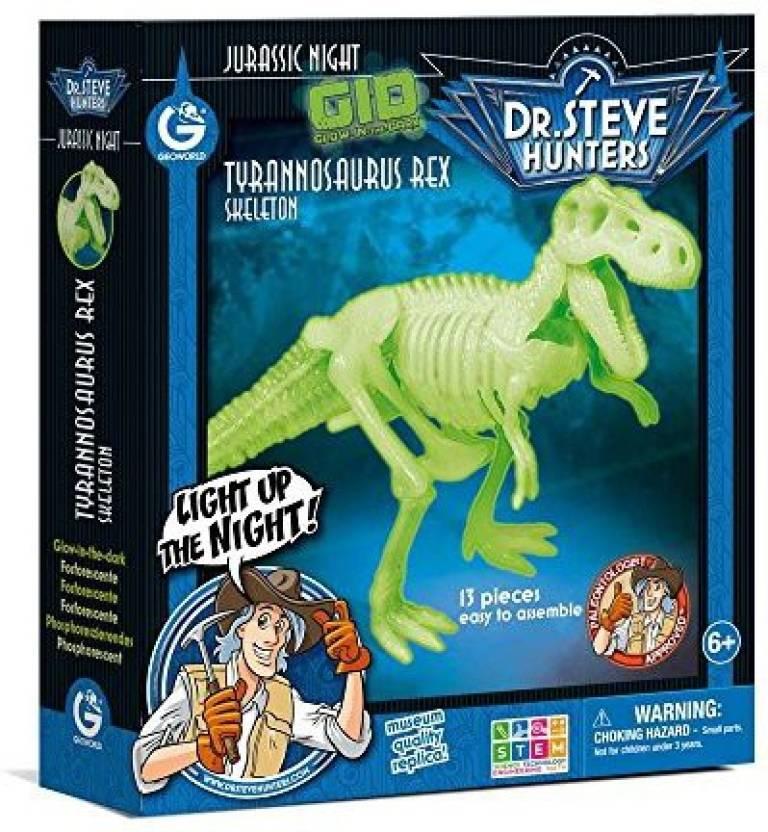 Geoworld Cl1651 K   Jurassic Night Glow in the Dark Game