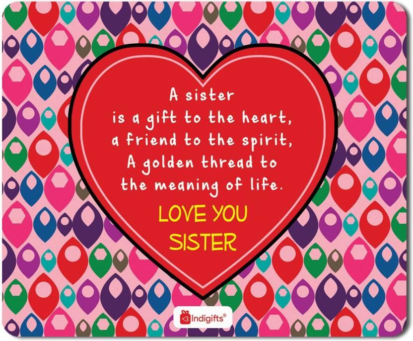 Indigifts Gifts For Sister Raksha Bandhan Gift Happy Birthday Rakhi