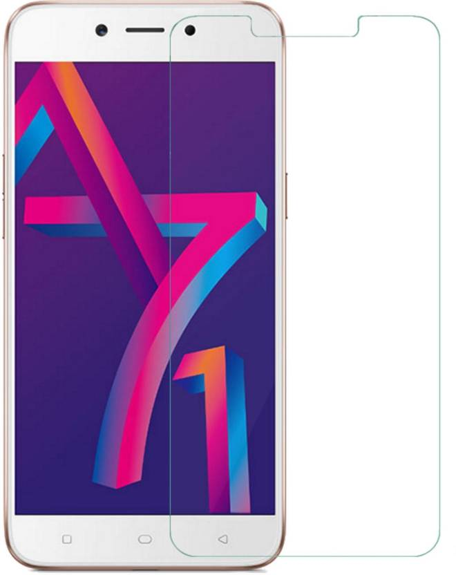 REZAWZ Tempered Glass Guard for Oppo A71 2018 (Pack of 1)