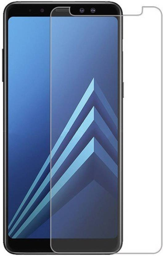 MRNKA Tempered Glass Guard for Samsung Galaxy A8 Plus