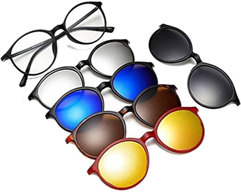 389f92ec73 Buy Vast Round Sunglasses Clear