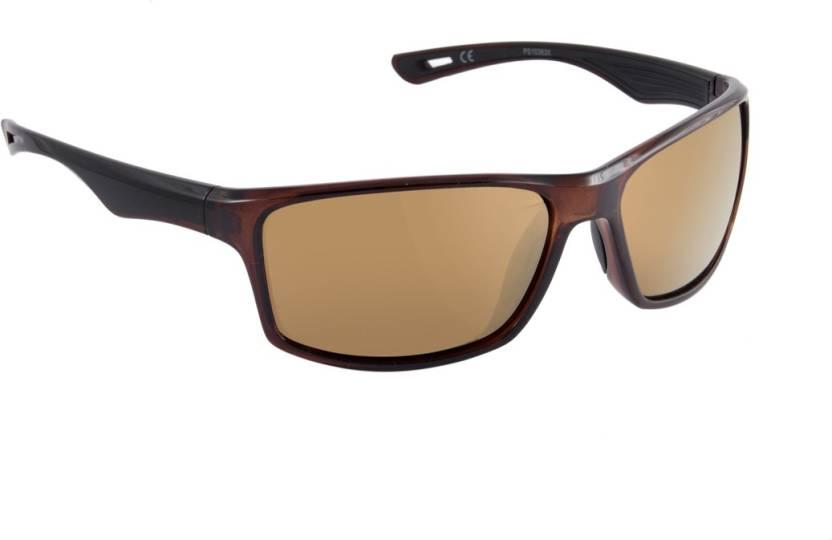 8dce3d18f6 Buy Macv Eyewear Sports Sunglasses Brown For Men   Women Online ...