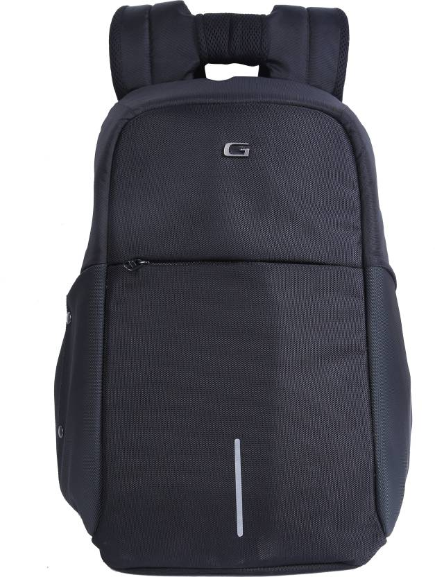 65e6c77cbd93 Gear START UP ANTI-THEFT 28 L Laptop Backpack Grey-Black - Price in ...