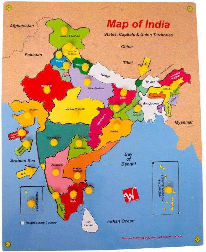 Toyvala Educational Wodden Board/ Indian Map /Puzzle for Kids Board on printable map of india, globe with india, map south africa, map the us, map south korea, map saudi arabia, business with india, map spain, map russia, map sri lanka, map japan, map southeast asia, game with india, map nigeria, map of india map, map of india landforms, map east africa, map singapore, map west asia, plain map of india,