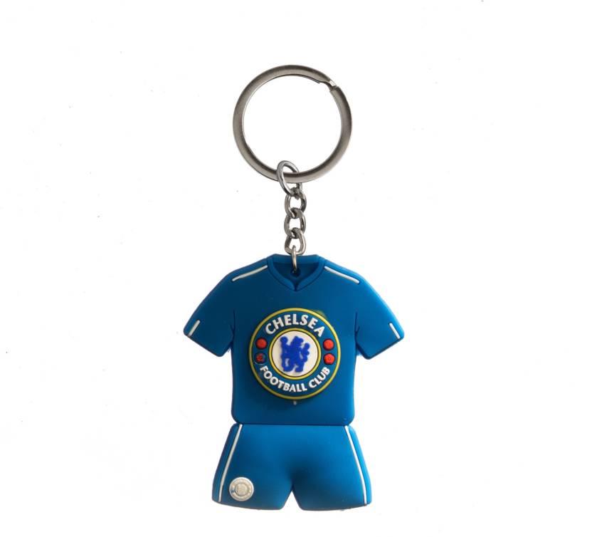 low priced 79d84 d38fe Techpro Doublesided Premier league Chelsea Jersey Key Chain