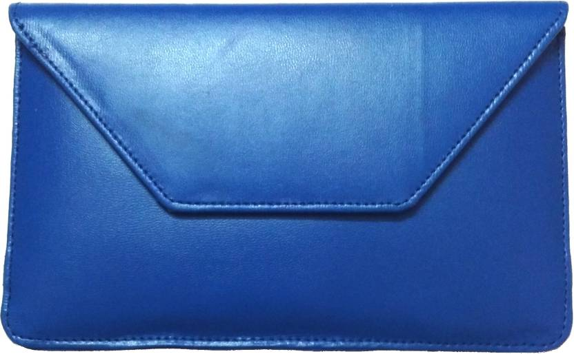 Mercury Case Pouch for Iball Slide Octa A41 Blue