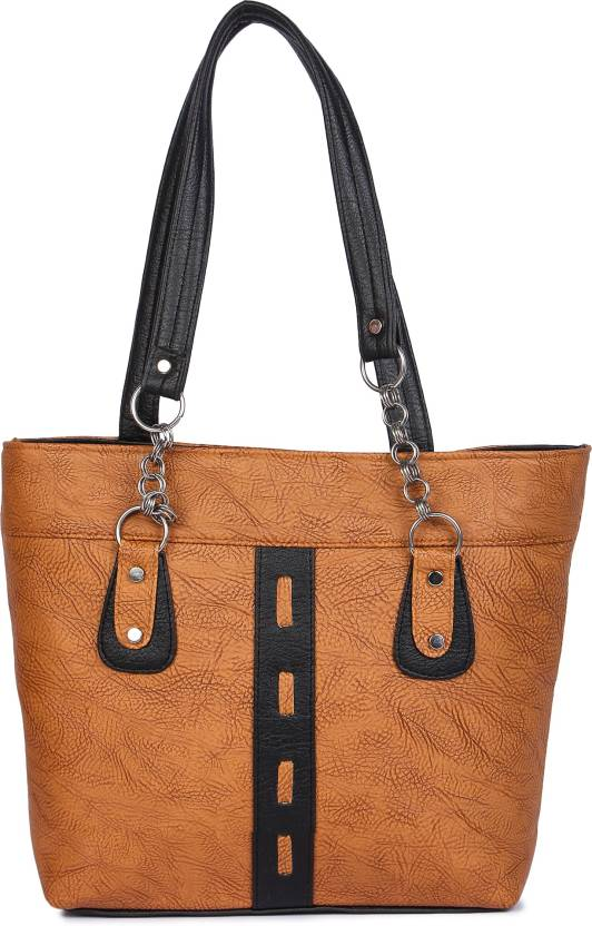 031c5e4f7a Buy AYESHA FASHION Shoulder Bag Tan Online   Best Price in India ...