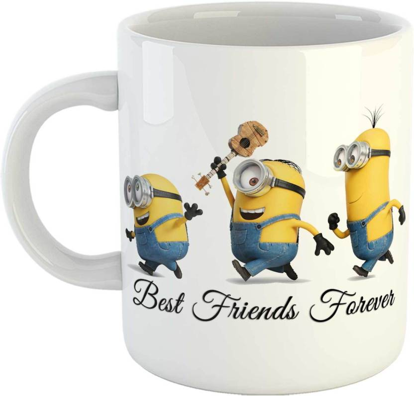 Gen7 Friendship Day Best Friends Forever Quote Printed Ceramic