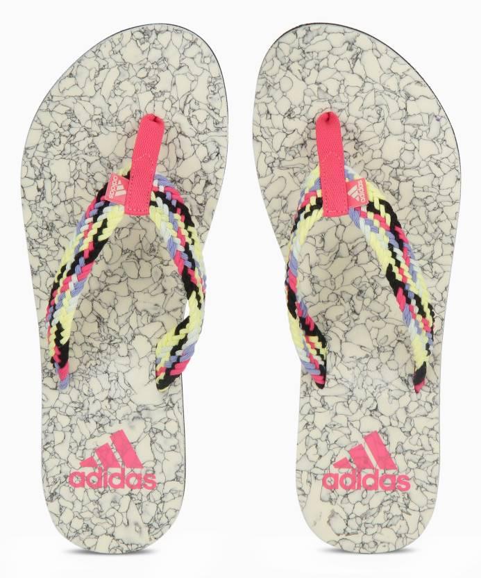 d640c5153fca ADIDAS BEACH CORK W Flip Flops - Buy ICEYEL CBLACK SHORED CHAP Color ADIDAS  BEACH CORK W Flip Flops Online at Best Price - Shop Online for Footwears in  ...