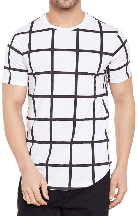 7a57e32b9 WRODSS Printed Men Round Neck White T-Shirt - Buy WRODSS Printed Men Round  Neck White T-Shirt Online at Best Prices in India | Flipkart.com