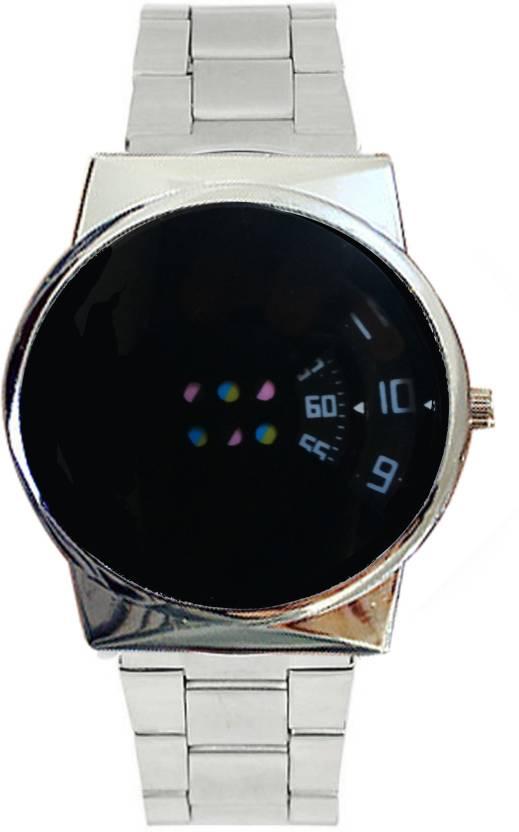 cb9ede6ecd3 Lifetime boys watch new black colored dial metal wrist watch professional  men watch in low price