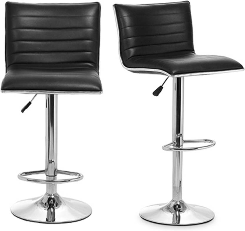 Amazing Lakdi Bar Chair Stool With Footrest Adjustable Height Ncnpc Chair Design For Home Ncnpcorg