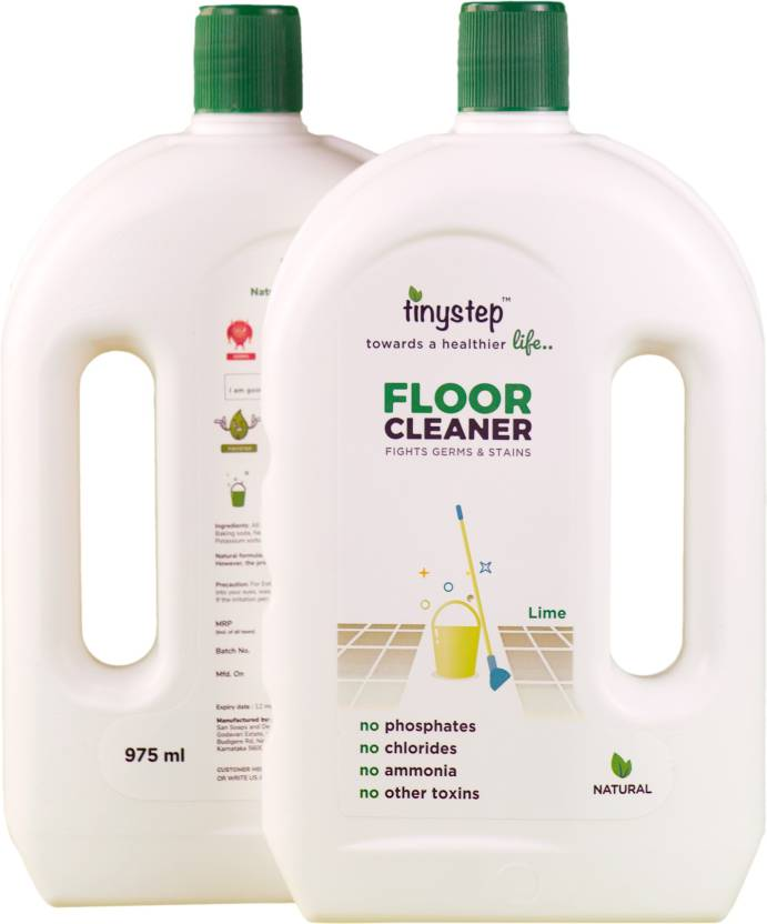 Tinystep Natural Baby Safe Pet Friendly Floor Cleaner Combo Pack 2