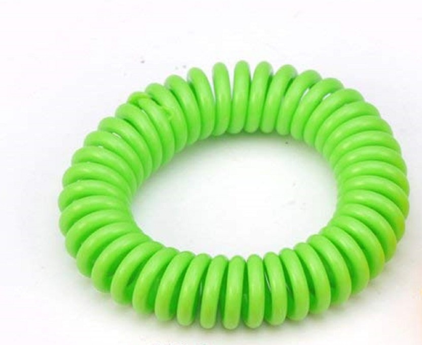 Mosquito Repellent Bracelet Waterproof Spiral Wrist Band Insect Protection NEW H