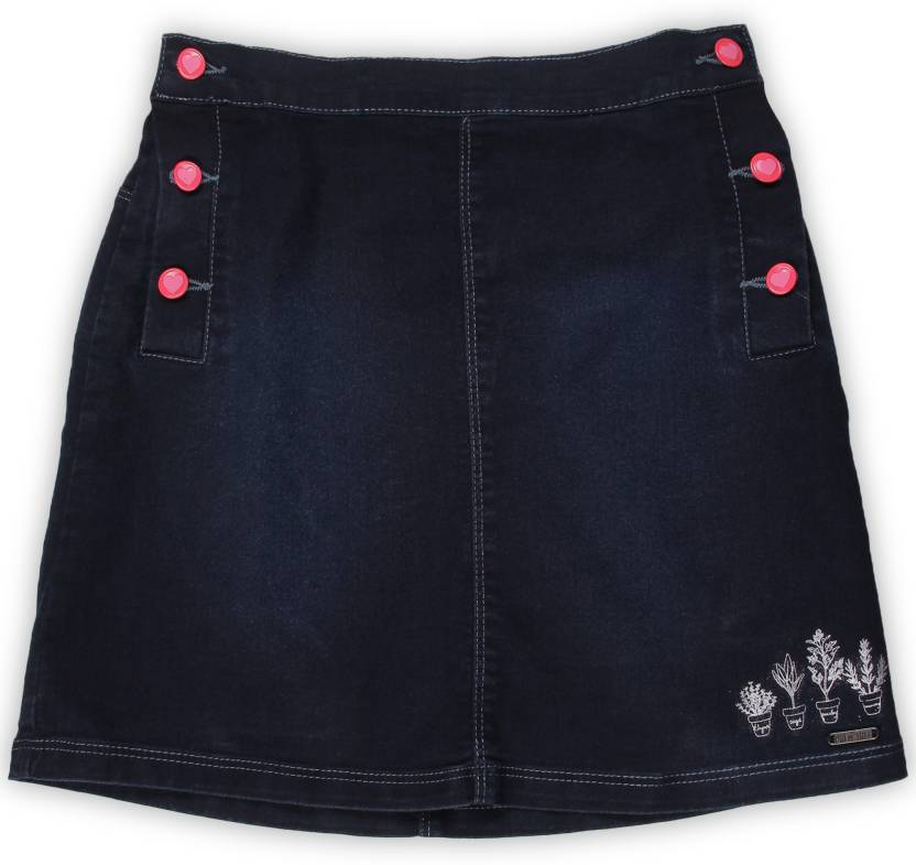 6b45b06061 Palm Tree Solid Girl's Straight Blue Skirt - Buy DX WASH(5000) Palm Tree  Solid Girl's Straight Blue Skirt Online at Best Prices in India |  Flipkart.com