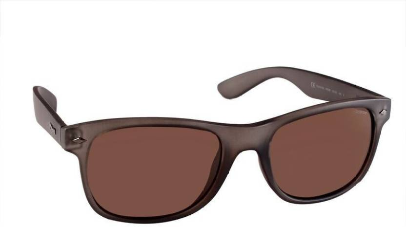 acec8e0d4 Buy Polaroid Wayfarer Sunglasses Brown For Men & Women Online @ Best ...