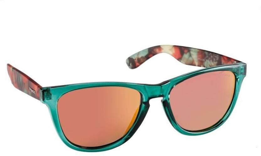 cc39ccda7f0 Buy Polaroid Wayfarer Sunglasses Red For Men   Women Online   Best ...
