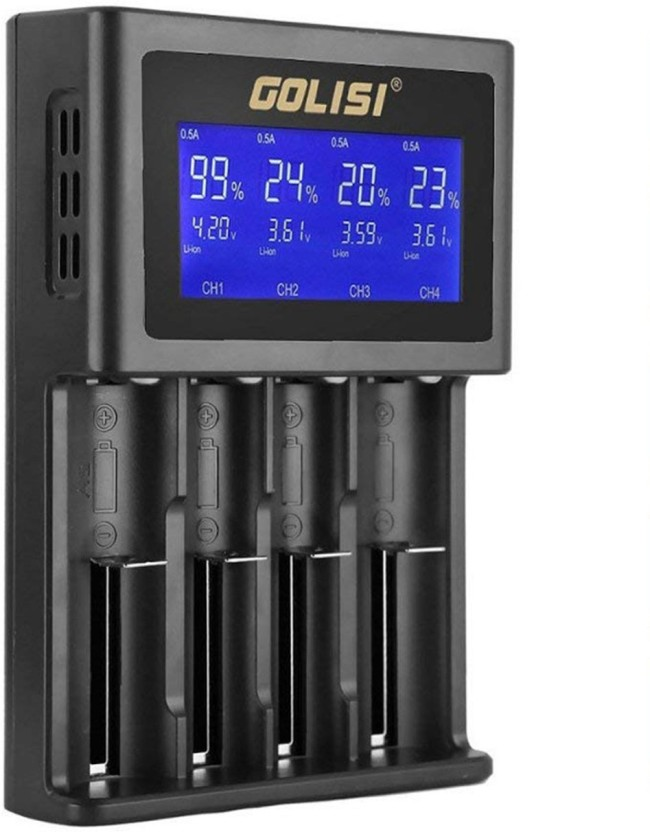 amicikart golisi s4 2 0a smart charger with lcd display and auto rh flipkart com
