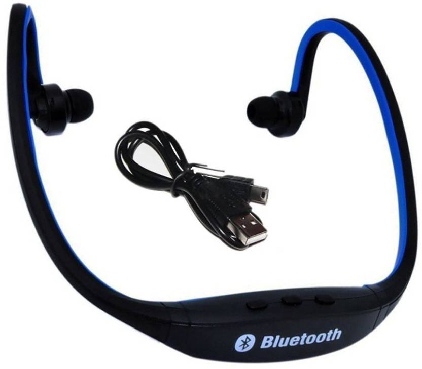 55991409cf8 Azacus Compatible Gionee Elife S5.1 Wireless Bluetooth BS19 On-Ear Sports  Headset Headphones (with Micro Sd Card Slot and FM Radio) Bluetooth Headset  with ...