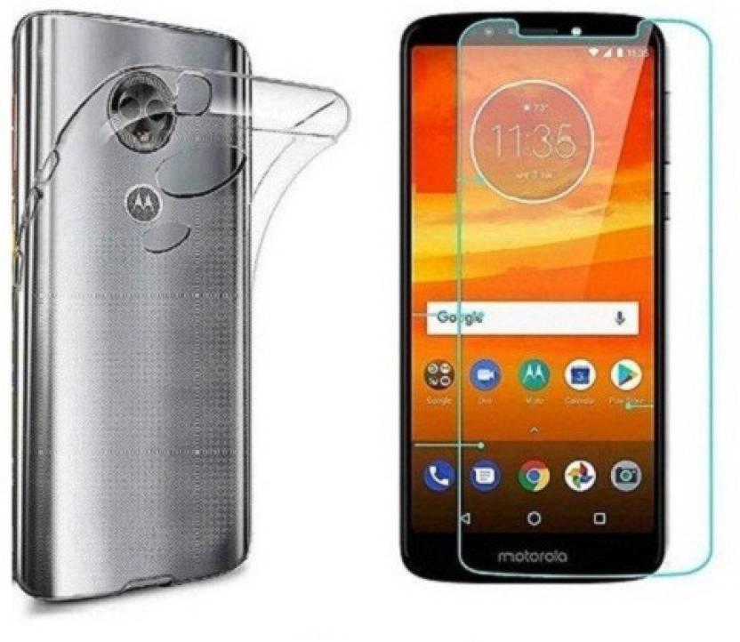 7Rocks Cover Accessory Combo for Motorola Moto G6 Play Transparent
