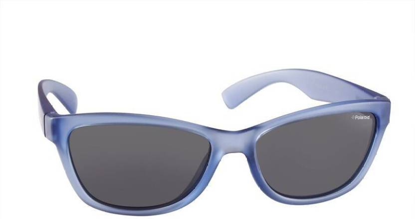 ca9ca83795d19 Buy Polaroid Wayfarer Sunglasses Grey For Men   Women Online   Best ...