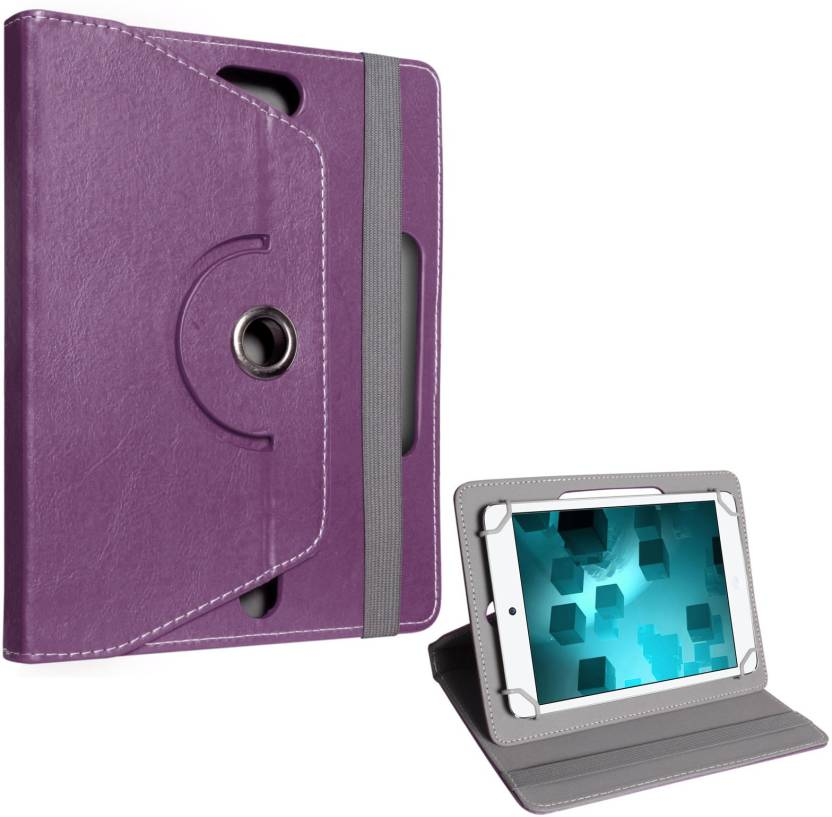 DMG Book Cover for Lenovo Tab 3 8 inch Purple