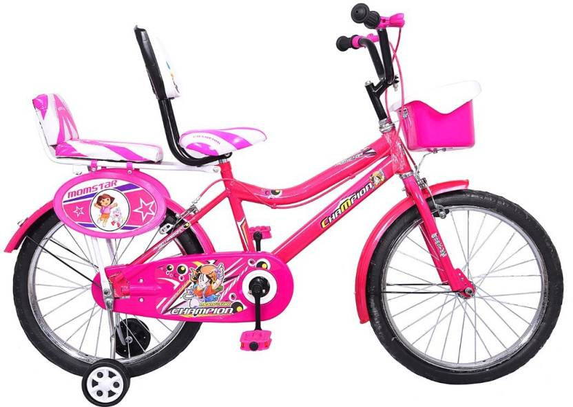 Mustang Momstar Champion Bike For Kids Of Age 5 8 Yrs Pink 20 T
