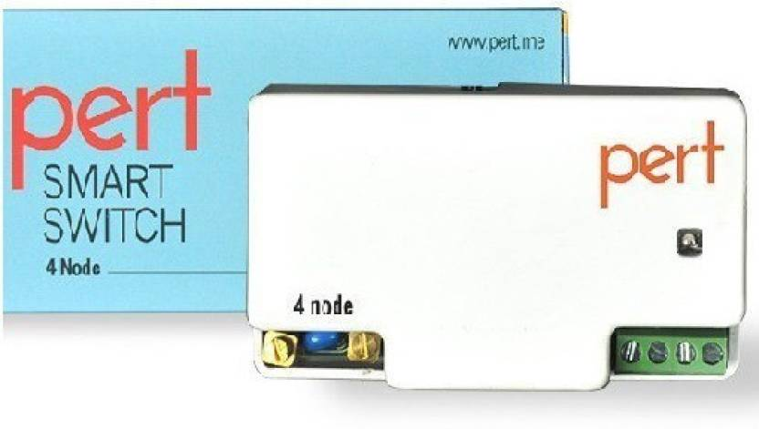 PERT Pert 4 Node Home Automation Wireless Smart Switch 5 One