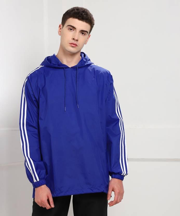 ba1403afd4 ADIDAS ORIGINALS Full Sleeve Solid Men s Sports Jacket - Buy Blue ADIDAS  ORIGINALS Full Sleeve Solid Men s Sports Jacket Online at Best Prices in  India ...