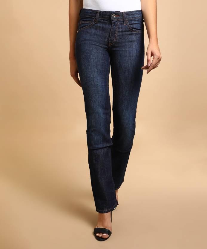 Flying Machine Skinny Women's Dark Blue Jeans