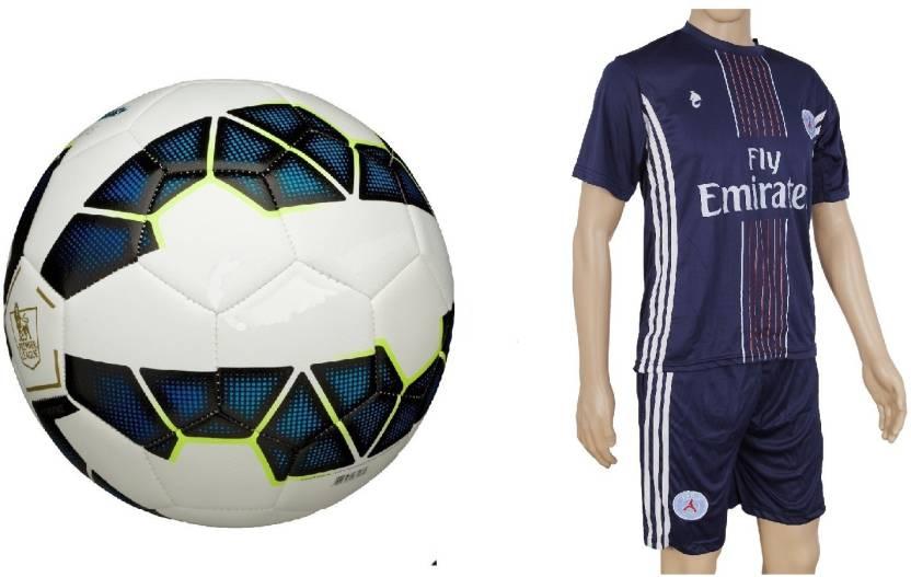 innovative design cd0fe bfdc9 SportsCorner Combo of Premier League Blue Football (Size-5 ...