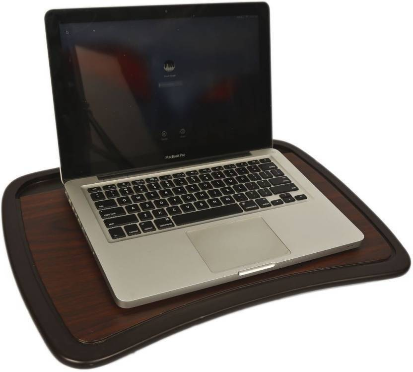 Ibs Portable Foam Cushion Base Wooden Lap Desk Stand Tablemate Solid Wood Portable Laptop Table