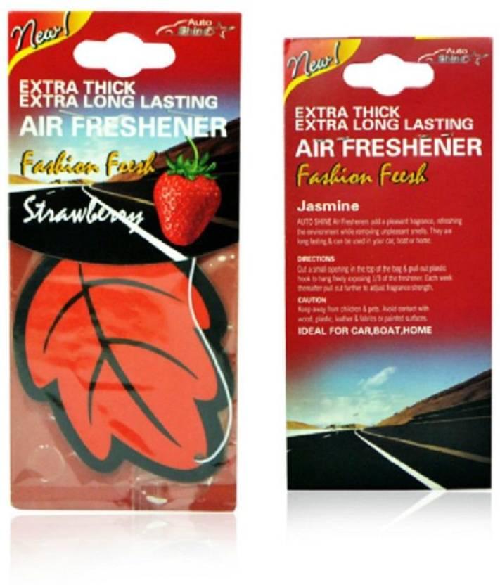 VibeX ® Anti-Tobacco Paper Hanging Car Air Freshener Vanilla
