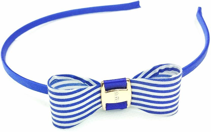 ead5c7f47e2 Fairytale Bow Hair Band Simple Cute Design For Girls Age 1 To 14 Hair Band  (Blue