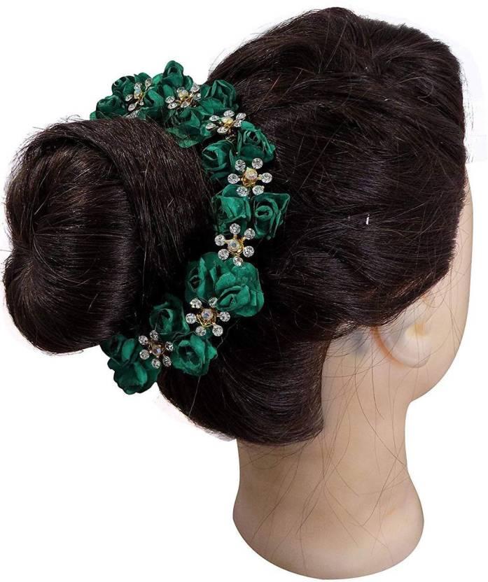 Raaya Bridal Hair Gajra For Women Juda Accessories For Women Dark