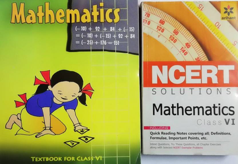Maths Class 6th Ncert Book With Solution Of Arihant(2): Buy Maths