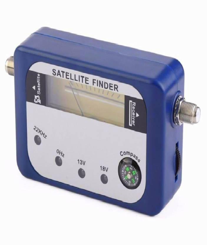Divinext Compass + 4 Led + Buzzer Satellite Signal Finder