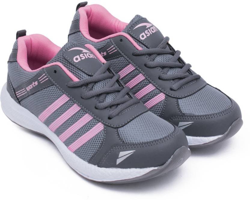 95548d76d6 Asian Fashion-13 Grey Pink Walking Shoes,Gym Shoes,Casual Shoes,Training  Shoes,Sports Shoes, Running Shoes For Women