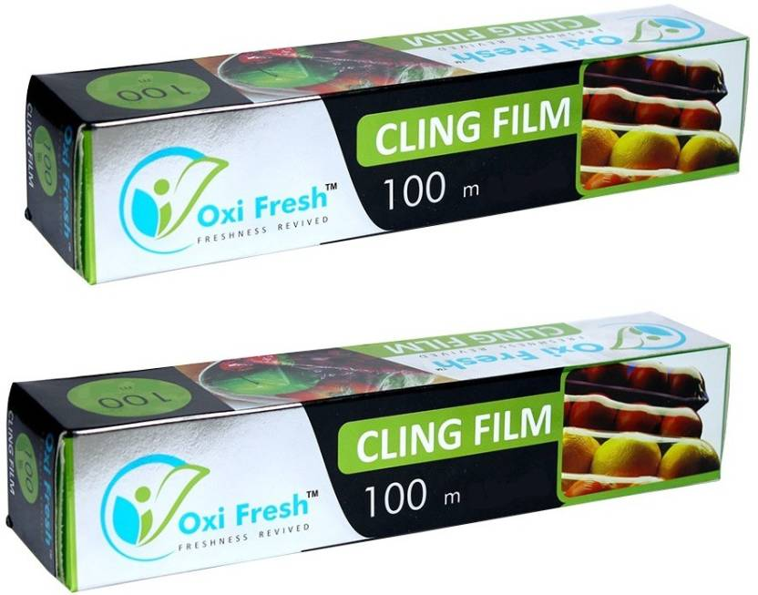 Oxi Fresh Cling Film 100M (Pack Of 2) Shrinkwrap Price in
