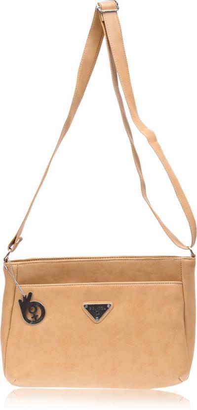 Buy Belizza Fashion Sling Bag Beige Online   Best Price in India ... f0923165dc643