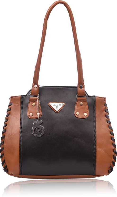 Buy Belizza Fashion Shoulder Bag Tan   Black Online   Best Price in ... 8981a8d309820