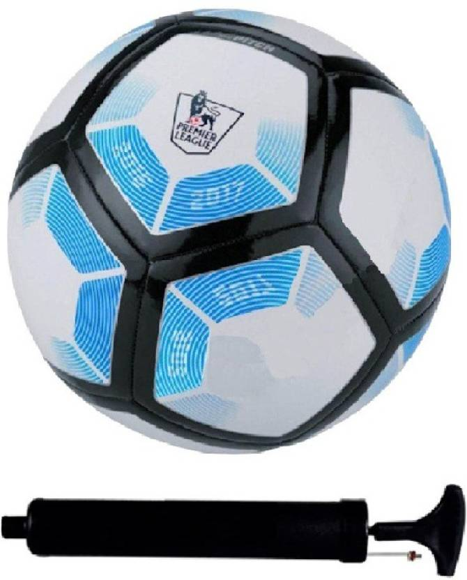 4a4942989 SportsCorner Kit of Blue White Black Football (Size-5) with Air Pump   Needle  Football Kit - Buy SportsCorner Kit of Blue White Black Football (Size-5)  with ...