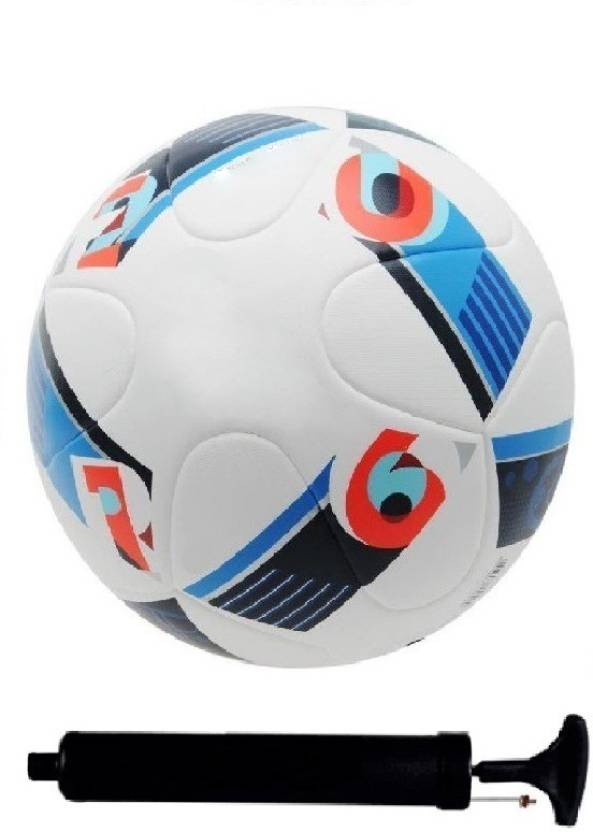 8e6638d2a SportsCorner Kit of Euro2016 France Football (Size-5)with Air Pump   Needle