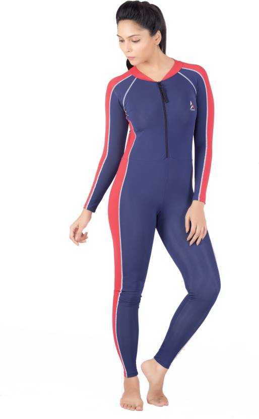 cf46afe27dc443 Attiva Unisex Skating Suit Full Sleeves Full Length Solid Women's Swimsuit  - Buy Dark Blue Attiva Unisex Skating Suit Full Sleeves Full Length Solid  Women's ...