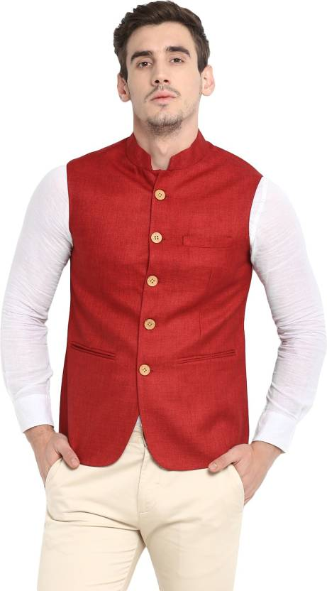 e359a9cee86f6b Red Tape Solid Men's Waistcoat - Buy Red Tape Solid Men's Waistcoat Online  at Best Prices in India | Flipkart.com