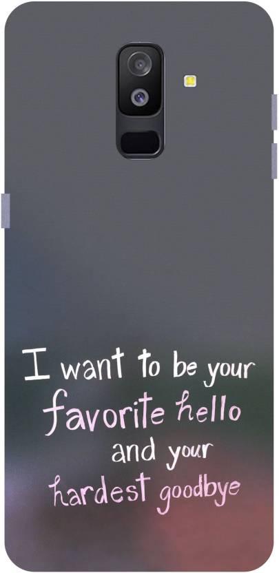 pretty nice 609cd 613b2 Vinayak Graphic Back Cover for Samsung Galaxy J6+ (Plus) - Vinayak ...