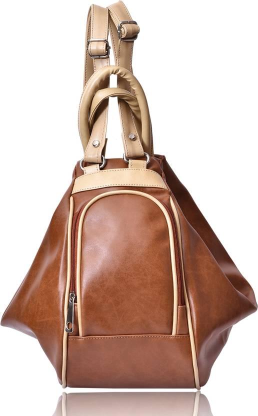 Buy Belizza Fashion Hand-held Bag Tan Online   Best Price in India ... ec5f8cf99b644