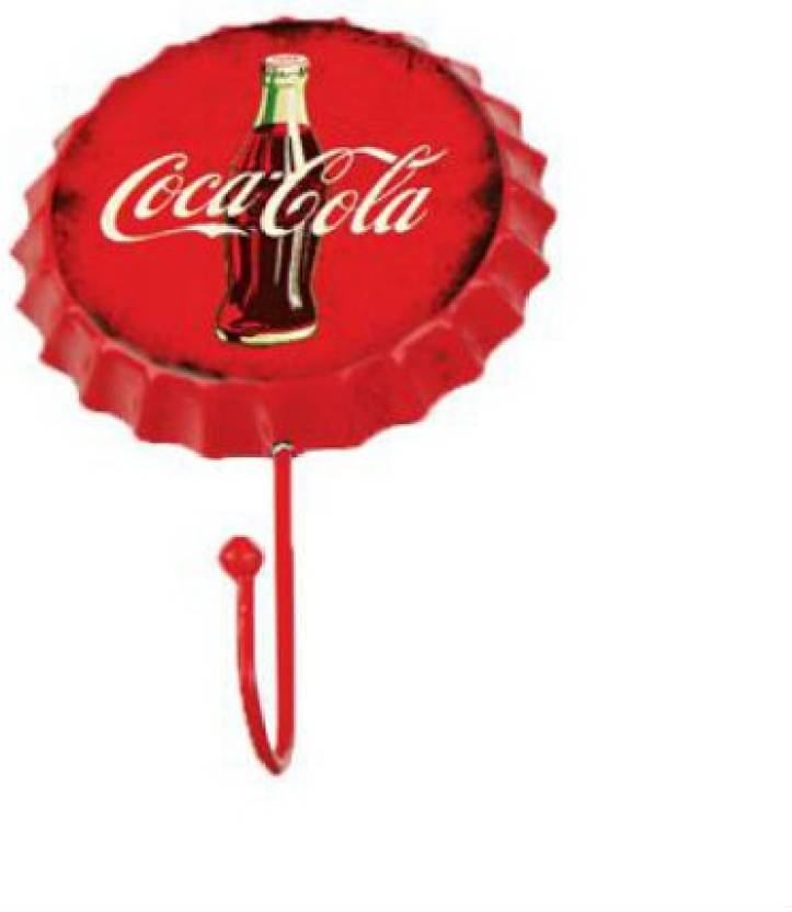 Shrih Coca Cola Bottle Cap Wall Hanger Hook 1 - Pronged Hook
